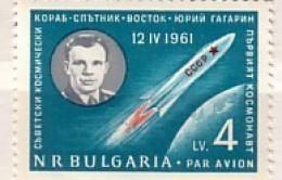 BULGARIA / Bulgarie  1961  SPACE - GAGARIN  1 V.-MNH - Bulgarie