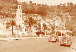 35mm DIAPOSITIVE SLIDE PHOTO 60s RIO DE JANEIRO BRAZIL BRASIL VOLKSWAGEN VW BEETLE A7 - Diapositive