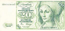Germany Woolmark Yugoslavia 20 DM Paper Voucher - [17] Falsi & Campioni