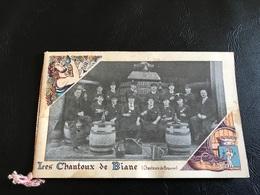Les Chantoux De Biane (Chanteurs De Beaune) - Vendanges En Bourgogne - Dépliants Touristiques