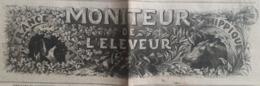 JOURNAL 1862 - Moniteur De L'éleveur France Hippique - 1850 - 1899