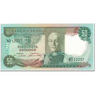 Billet, Angola, 50 Escudos, 1972, 1972-11-24, KM:100, NEUF - Angola