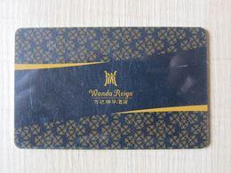 Wanda Reign,China - Hotelsleutels (kaarten)