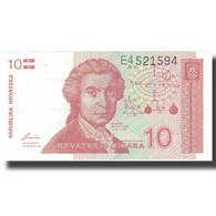 Billet, Croatie, 10 Dinara, Undated (1991), 1991-10-08, KM:18a, NEUF - Croatie