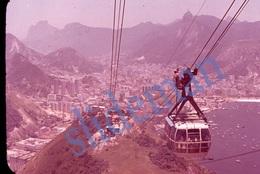 SET OF 4 35mm DIAPOSITIVE SLIDE PHOTO 60s RIO DE JANEIRO BRAZIL BRASIL A8-11 - Diapositive