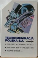 PO86 - POLONIA - POLSKA , URMET - 25 - TELEKOMINIKACJA POLSKA S.A. - Pologne