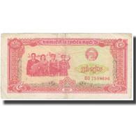 Billet, Cambodge, 5 Riels, 1987, KM:33, TB - Cambodge