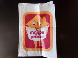 """Sac Papier Publicitaire """" La Maison De La Presse """" - Advertising"""