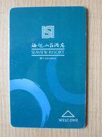Seaview Resort,Xiamen China - Hotelsleutels (kaarten)