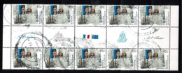 Australia 2002 Flinders - Baudin. Joint Issue With France 45c Gutter Block Of 10 CTO - Gebraucht