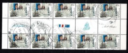 Australia 2002 Flinders - Baudin. Joint Issue With France 45c Gutter Block Of 10 CTO - - Gebraucht