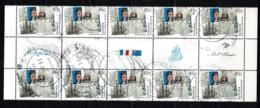 Australia 2002 Flinders - Baudin. Joint Issue With France 45c Gutter Block Of 10 CTO - - 2000-09 Elizabeth II