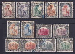 NYASSA 1901, MI# 27-39, Animals, Used - Nyassa