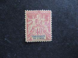 Inde:  TB N° 10. Faux Fournier, Neuf XX . - India (1892-1954)
