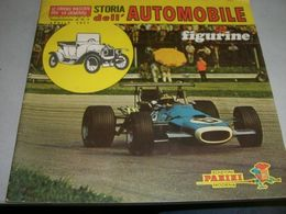 ALBUM FIGURINE PANINI STORIA DELL'AUTOMOBILE SUPPLEMENTO AL N.4 APRILE 1971 - Panini