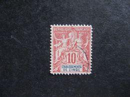 Inde:  TB N°14, Faux Fournier. Oblitéré . - India (1892-1954)