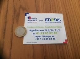 AUTOCOLLANT, Sticker « Europ Assistance Pour Enedis» (ex Erdf, Edf) - Stickers