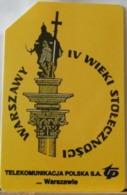 PO89- POLONIA - POLSKA , URMET - 100 - WARSZAWY IV WIEKI STOLECZNOSCI - SECOLI CAPITALE DELLA VARSAVIA - Pologne