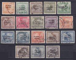 RUANDA-URUNDI 1924/26, Sc# 6-23, CV $37, Ethnography, Used - 1924-44: Usati