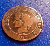 CERES   5 Centimes 1873 K  (B11 36) - France
