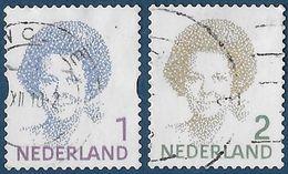 NVPH 2730-2731 - 2010 - Koningin Beatrix - Periodo 1980 - ... (Beatrix)