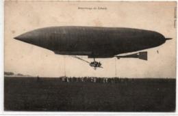 Attérrissage Du LEBAUDY - Airships