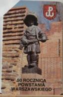 PO92- POLONIA - POLSKA , URMET - 50 - 50 ROCZNICA POWSTANIA WARSZAWSKIEGO - ANNIVERSARIO RIVOLTA DI VARSAVIA - Pologne