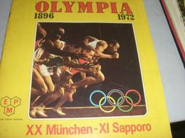 ALBUM FIGURINE OLYMPIA 1896-1972 EDIZIONE PANINI - Panini