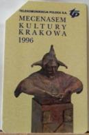 PO95- POLONIA - POLSKA , URMET - 25 - MECENASEM KULTURY KRAKOWA 1996 PATRONO DELLA CULTURA KRAKOWA - PT - Pologne