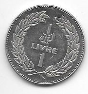 *lebanon 1 Livre 1975 Km 28.1 - Líbano