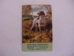 Dog Chien Cão Luso Sales Corporation Portugal Portuguese Pocket Calendar 1979 - Calendars