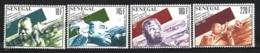 Senegal 1991 Yvert 919-22, Music. Famous People. Musician, Louis Armstrong - MNH - Senegal (1960-...)
