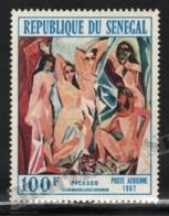 Senegal 1967 Yvert Airmail 61, Art. Ladies Of Avignon, Painting By Picasso - MNH - Senegal (1960-...)