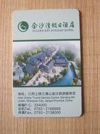 Golden Bay Holiday Hotel,Shangrao China - Hotelsleutels (kaarten)