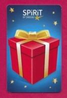 Carte Cadeau  SPIRIT.    Gift Card.    Geschenkkarte. - Cartes Cadeaux