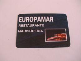 Europar Restaurante Marisqueira Costa Da Caparica Almada Portugal Portuguese Pocket Calendar 1994 - Kalender