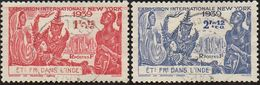 Détail De La Série Exposition Internationale De New York Obl. Inde N° 116 Et 117 - 1939 Exposition Internationale De New-York