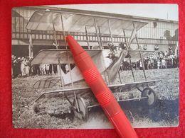 FOTOGRAFIA  AEREO  BREDA PENSUTI  Taliedo 4-7-1920 - Aviazione