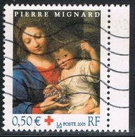 FRANCE : N° 3620 Oblitéré Avec Bord (Croix-Rouge) - PRIX FIXE : 1/3 De La Cote - - Used Stamps