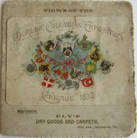 29540g  WORLDS COLUMBIAN EXPOSITION - CHICAGO 1893 - SOUVENIR - Andere Verzamelingen