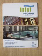 Escher Schwemm Les Bains Du Parc,Luxembourg - Hotelsleutels (kaarten)