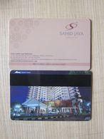 Sahid Jaya Makassar,Indonesia - Hotelsleutels (kaarten)