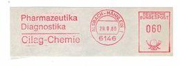 Briefausschnitt AFS - Alsbach Hähnlein 6146 1980 - Pharmazeutika Diagnostica Cilag-Chemie - Apotheek