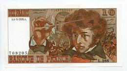 - Billet FRANCE - 10 Francs - HECTOR BERLIOZ 1976 Neuf - - 1962-1997 ''Francs''