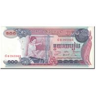 Billet, Cambodge, 100 Riels, 1972, Undated (1972), KM:15a, SUP - Cambodge