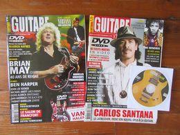 Lot De 2 Magazines  Guitare Extrème  N° 40 Et 44       Musique   Partitions - Music