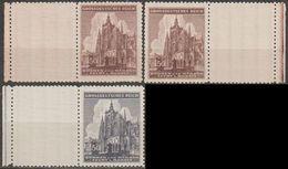 10/ Bohemia & Moravia; ** Nr. 120-121 - Stamps With Coupon - Bohême & Moravie