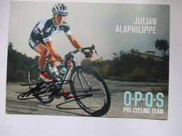 Cyclisme Photo Signee Julian Alaphilippe - Cycling