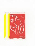 Lamouche TVP Rouge De Roulette ITVF YT 3743 Avec 2 Bandes à Gauche . Superbe , Voir Le Scan . Maury N° 3725b : 10 € . - Variedades: 2000-09 Nuevos