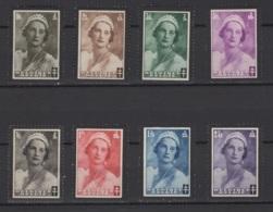 Belgique: 1935 :  COB N° 411/18 **, MNH Et MH, *. Petits Défauts De Gomme  Cpté *, MH. Cote COB 2020 : 8 € - Unused Stamps